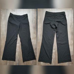 Theory wool blend black dress pants